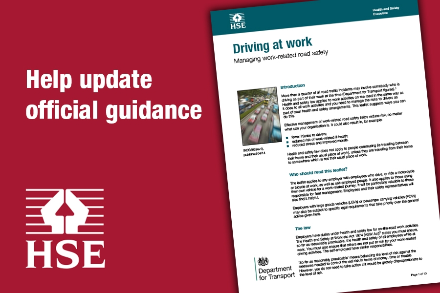 guidance on driving for work